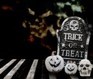 halloween treattrick Arkivbilder