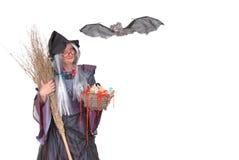halloween treattrick Arkivfoton