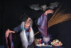 halloween treattrick Fotografering för Bildbyråer