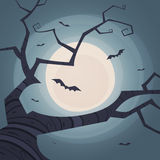 Halloween Tree Stock Image