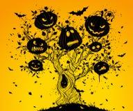 Halloween tree. Stock Images