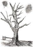 Halloween tree Stock Photography