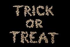 Halloween - Trick oder Festlichkeit stockbild