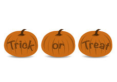 Halloween Trick or Treat Royalty Free Stock Photos