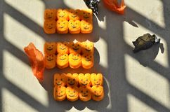 Halloween Trick or Treat candy peeps Jack o Lanterns