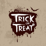 Halloween trick or treat Royalty Free Stock Image