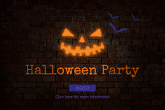 Halloween Trick or Treat Party Concept Royalty Free Stock Photo