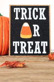 Halloween trick or treat Royalty Free Stock Photos