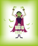 Halloween Trick Or Treat Royalty Free Stock Images