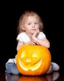 Halloween triste Immagini Stock Libere da Diritti