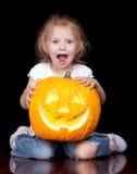 Halloween triste Fotografia Stock Libera da Diritti