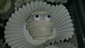 Halloween Truffle Mummies. FESTIVE oreo truffle mummies Stock Image
