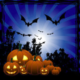 Halloween twirl background Royalty Free Stock Photo