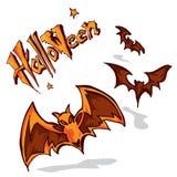 Halloween uderza A Zdjęcia Stock