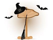Halloween-uithangbord Royalty-vrije Stock Afbeeldingen