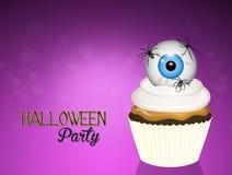 Halloween-uitnodigingspartij royalty-vrije illustratie