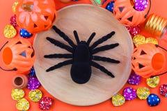Halloween-Vakantieachtergrond Stock Fotografie