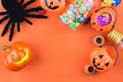 Halloween-Vakantieachtergrond Royalty-vrije Stock Foto