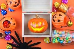 Halloween-Vakantieachtergrond Royalty-vrije Stock Afbeeldingen