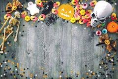 Halloween-Vakantieachtergrond Royalty-vrije Stock Fotografie