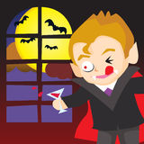 Halloween Vampire Stock Photo