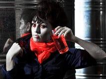 Halloween vampire royalty free stock photo
