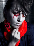 Halloween vampire Stock Images