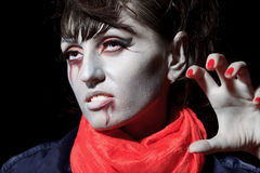 Halloween vampire Stock Photography