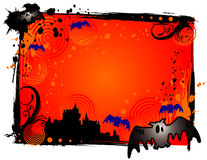 Halloween vampire banner Royalty Free Stock Photography