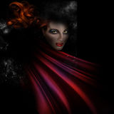 Halloween Vampire Image Stock Images