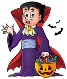 Halloween vampire theme image 1 Stock Photo