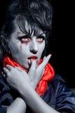 halloween vampyr royaltyfri bild