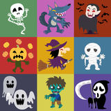 Halloween. A variety of Halloween roles Royalty Free Stock Photography
