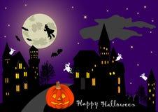 Halloween. vector. Royalty Free Stock Photos