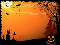 Halloween vector background Stock Images