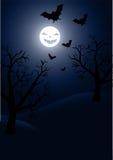 Halloween vector background Stock Images