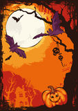 Halloween vector background Royalty Free Stock Photography