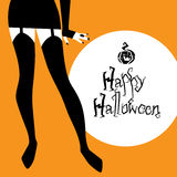 Halloween vector background Royalty Free Stock Images