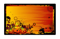 Halloween vector background Royalty Free Stock Photos