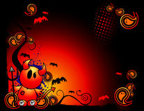 Halloween vector banner Stock Images