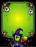 Halloween vector banner Royalty Free Stock Image