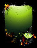 Halloween vector banner Royalty Free Stock Photography