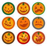 Halloween Vector drink coasters  Stock Photo