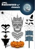 Halloween vector elements set Stock Photos