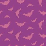 Halloween vector flying bats seamless pattern. Stock Photo