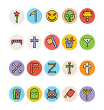 Halloween Vector Icons 3 Stock Photo