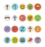 Halloween Vector Icons 3 Stock Photo