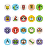 Halloween Vector Icons 1 Royalty Free Stock Photo