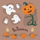 Halloween vector Icons set . Stock Photography