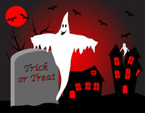 A halloween vector illustration Stock Image